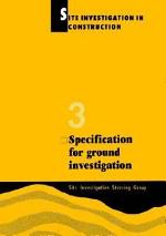 Specification for Ground Investigation