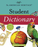 The American Heritage Student Dictionary PDF