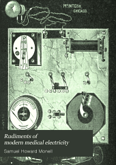 Rudiments of modern medical electricity