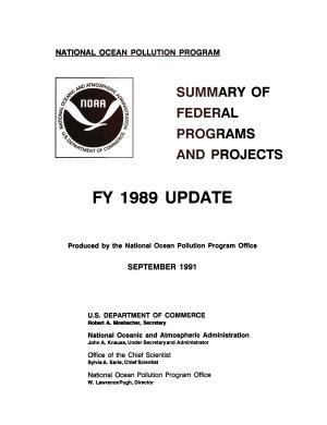 National Marine Pollution Program