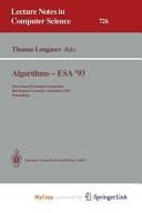 Algorithms - ESA '93