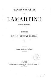 Histoire de la Restauration, 18