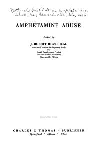Amphetamine Abuse PDF