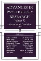 Advances in Psychology Research  Volume 50 PDF