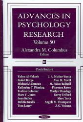 Advances in Psychology Research: Volume 50