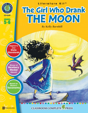 The Girl Who Drank the Moon   Literature Kit Gr  5 6