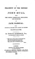 A Fragment of the History of John Bull PDF