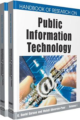 Handbook of Research on Public Information Technology PDF