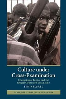 Culture Under Cross Examination Book