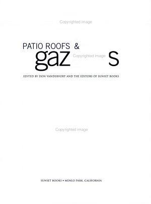 Patio Roofs   Gazebos