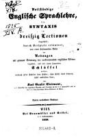 Vollst  ndige Englische Sprachlehre  3  Aufl PDF