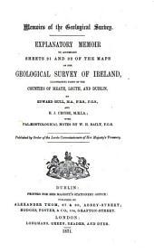 Explanation to Accompany Sheets 1-: Volumes 91-100; Volumes 103-111; Volumes 113-114