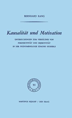 Kausalit  t und Motivation PDF