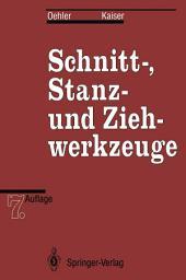 Schnitt-, Stanz- und Ziehwerkzeuge: Ausgabe 7