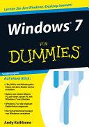Windows 7 f  r Dummies PDF