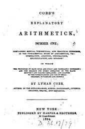 Cobb's explanatory arithmetick: Issue 1