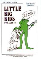 Little Big Kids  for Ages 3 5 PDF