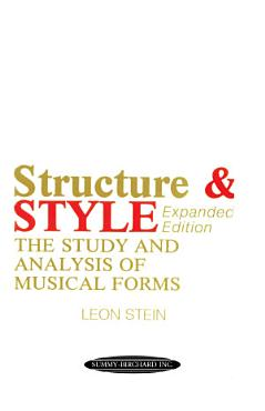 Anthology of Musical Forms   Structure   Style  Expanded Edition  PDF
