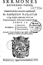 Sermonum celeberrimi... Gabrielis Barletae