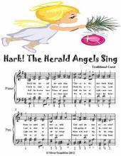 Hark the Herald Angels Sing - Elementary Piano Sheet Music Junior Edition