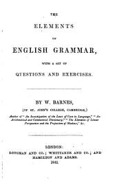 The elements of English grammar
