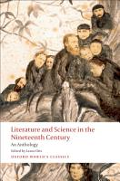 Literature and Science in the Nineteenth Century PDF