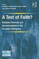 A Test of Faith  PDF
