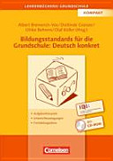 Bildungsstandards f  r die Grundschule  Deutsch konkret PDF