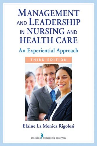 Management and Leadership in Nursing and Health Care PDF