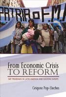 From Economic Crisis to Reform PDF