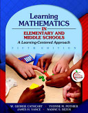 Learning Mathematics in Elementary and Middle Schools PDF