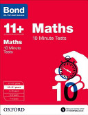 Bond 11+: Maths: 10 Minute Tests