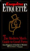Download Esquire Etiquette Book