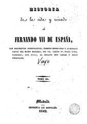 Historia de la vida y reinado de Fernando VII de España, 3