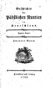 Geschichte der päbstlichen Nuntien in Deutschland: 2