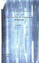 One Hundredth Anniversary Of The Declaration Of Independence And Independence Square As A Monument Of Memorials Sacred And Forever Book PDF