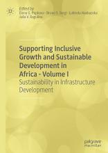 Supporting Inclusive Growth and Sustainable Development in Africa   Volume I PDF