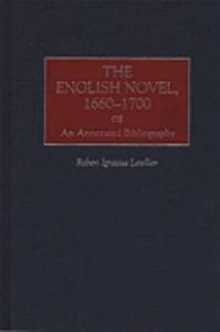 The English Novel  1660 1700 PDF
