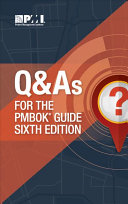 Q   As for the PMBOK Guide
