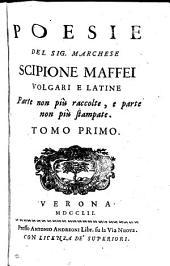 Poesie ... volgari e latine