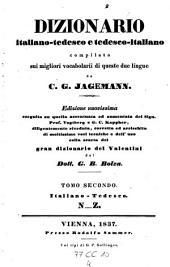 Dizionaro tedesco-italiano e italiano-tedesco ... Ed. nuovissima da G. B. Bolza: Volume 4