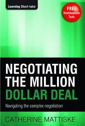 Negotiating the Million Dollar Deal