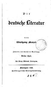 Die deutsche Literatur. 2., vermehrte Aufl: Bände 3-4