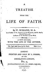 A Treatise Upon the Life of Faith
