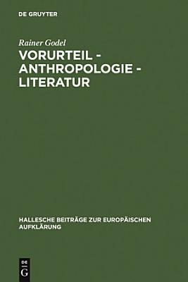 Vorurteil   Anthropologie   Literatur PDF