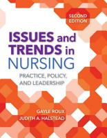 Issues and Trends in Nursing PDF