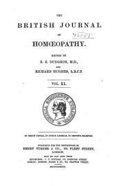 The British Journal of Homoeopathy: Volume 40