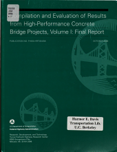 Compilation and Evaluation of Results from High performance Concrete Bridge Projects PDF