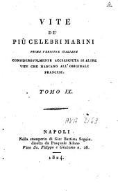Vite de' più celebri marini: prima versione italiana considerevolmente accresciuta di altre vite che mancano all'originale francese, Volume 5