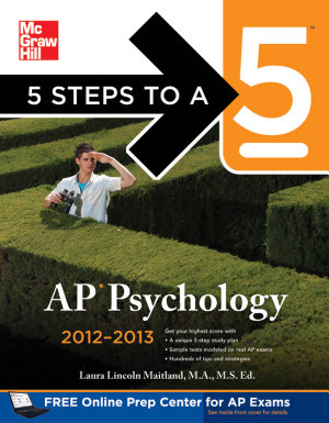 5 Steps to a 5 AP Psychology  2012 2013 Edition